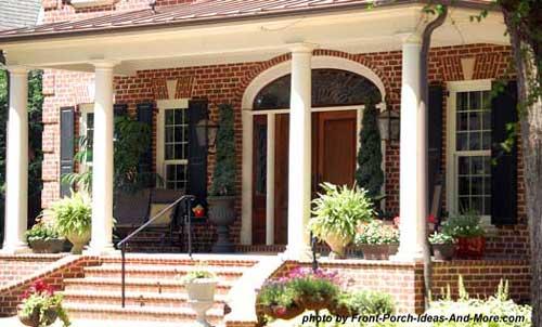 Winston salem nc front porch ideas front porch pictures for Southern front porches