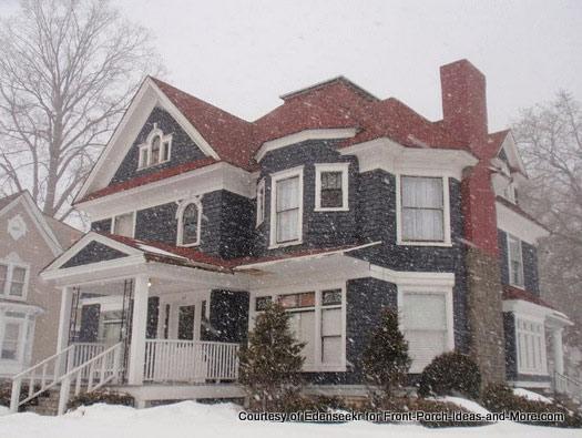 gorgeous snowy winter scene - spells home
