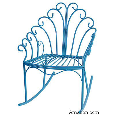 wire designed children's rocking chair