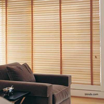 wood blinds window treatments