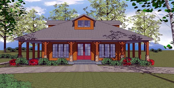 Craftsman farm house wrap around porch craftsman floor for Craftsman wrap around porch