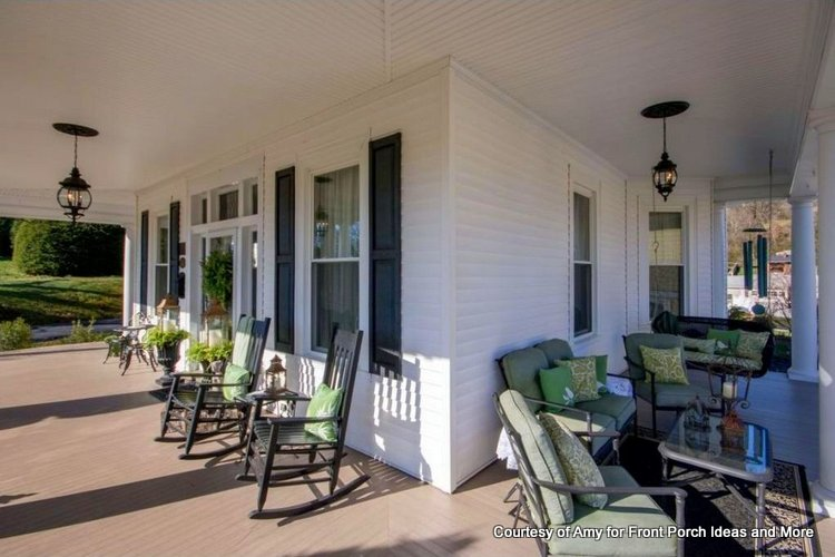 Amy's country porch