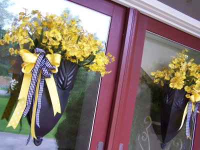 wreath designs with sunflowers