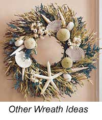 more decorated wreath ideas