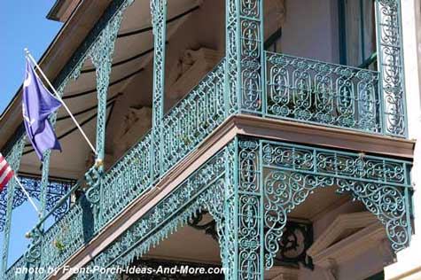 beautiful wrought-iron-columns
