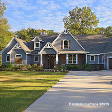 ranch home floor plan with front porch