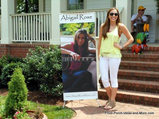 Singer Abigail Rose