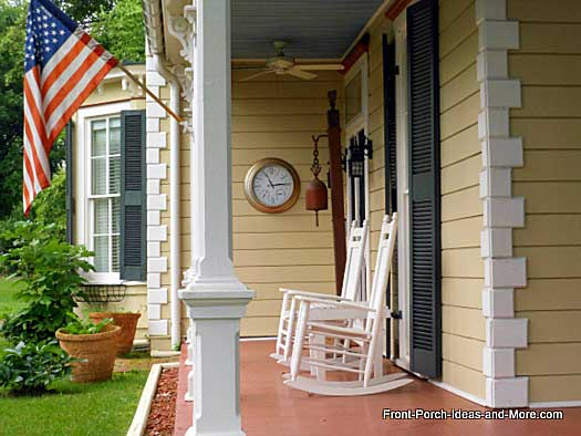beautiful front porch in Abingdon VA