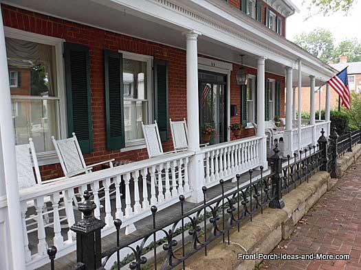 Abingdon VA Front Porch