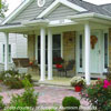 aluminum porch columns open front porch