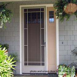 aluminum screen door from PCA products