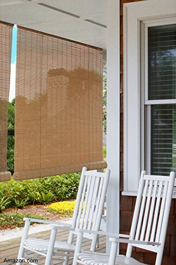 blinds can keep your porch so much cooler