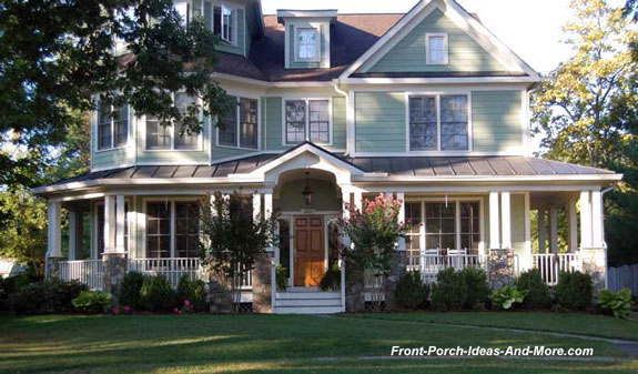 curb appealing farm house front porch