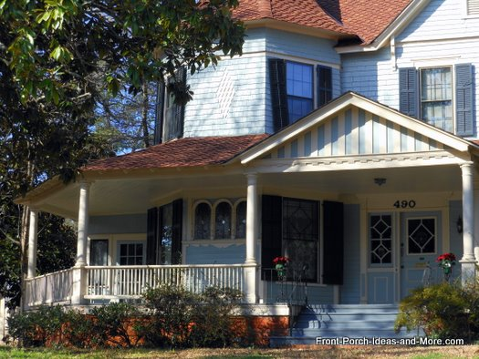 Innovative front porch design