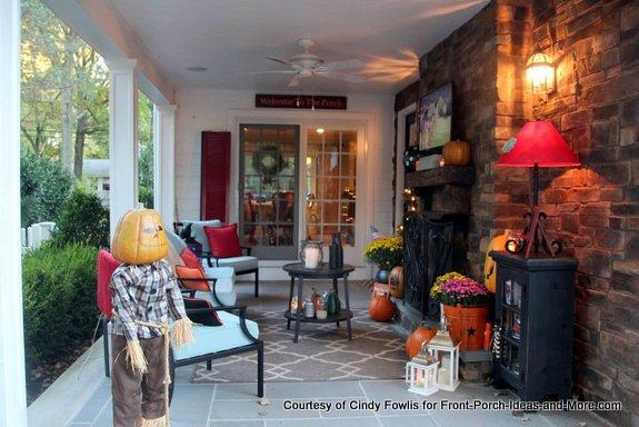 Cindy's back porch