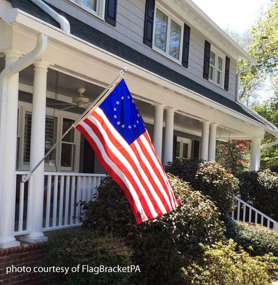 Innovative Banner Flag Brackets