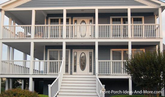 double decker front porch Lewes DE