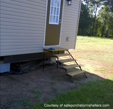 Mobile home before SafePorch
