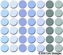 blue paint grid