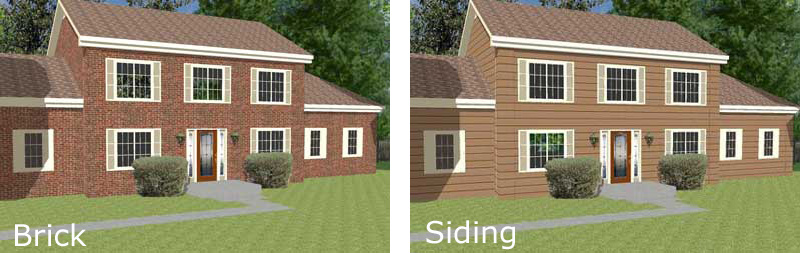 basic two story home designs