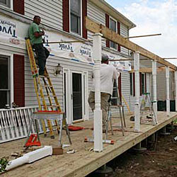 Perfect Framers Building A New Porch Roof