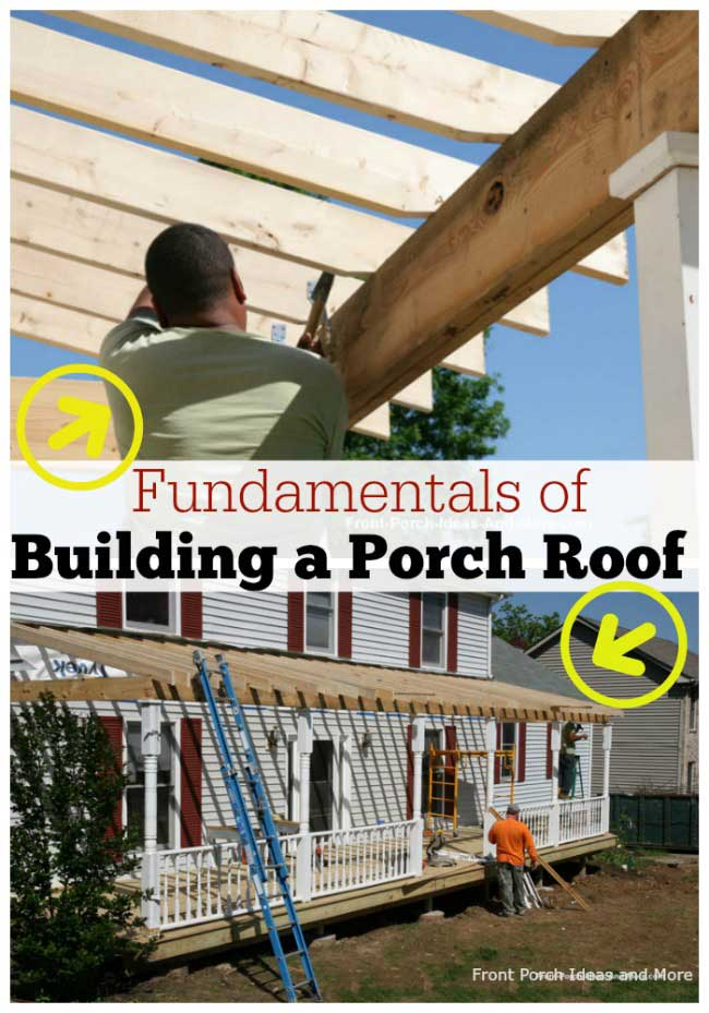 building a porch roof - the fundamentals to know