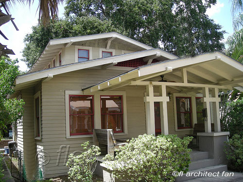 bungalow home with nice front porch