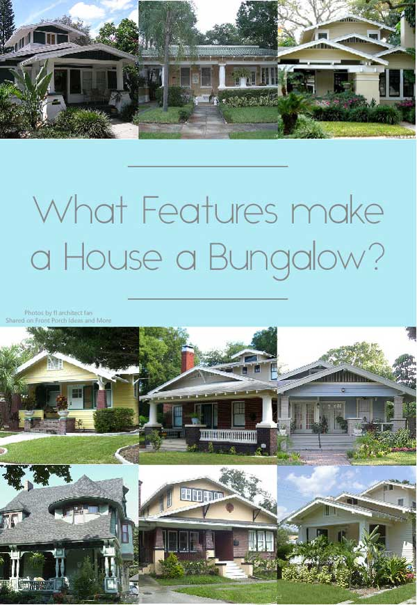 Bungalow style homes are very popular due to not only that unique bungalow design but also for their typical location, low density neighborhoods.