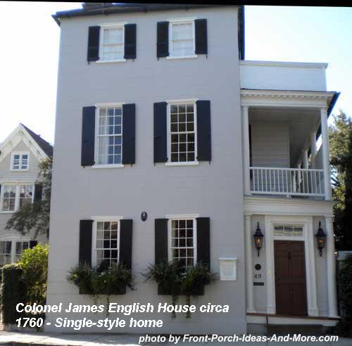 Col James English House in Charleston SC