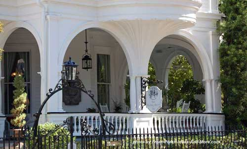 Charleston porch with lovely arches
