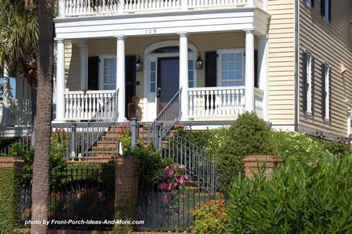 inviting front porch southern style