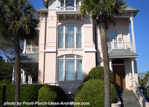 a Charleston Side Porch