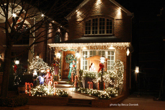 christmas light display in brookly ny