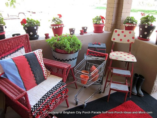adorable front porch furniture
