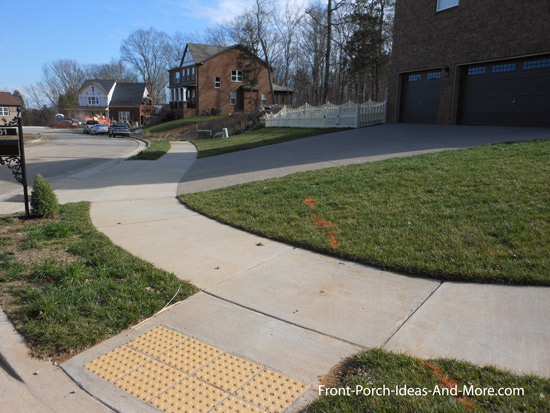 welcoming community sidewalks