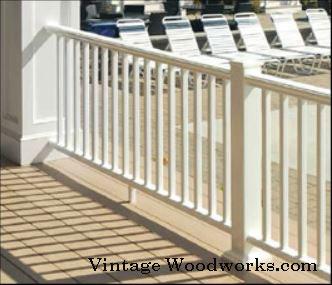 composite porch railings by Vintage Woodworks.com