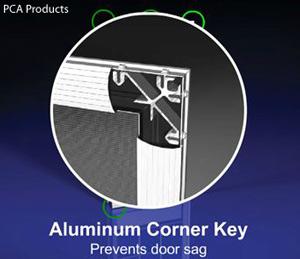 PCA Products corner key diagram