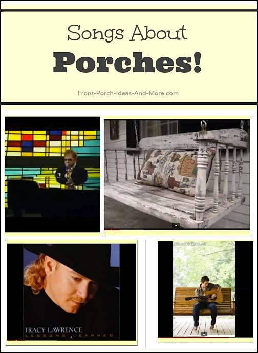 country music songs about porches