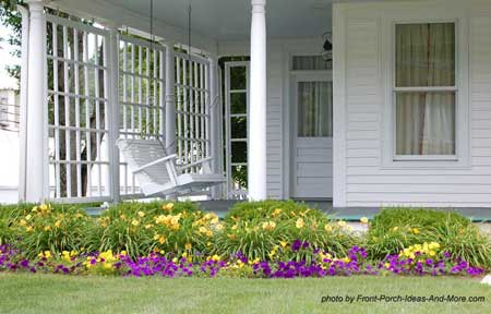 Typical Country Porch design