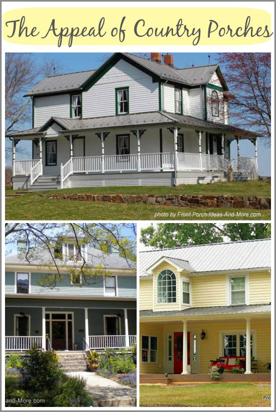 Classic country porches