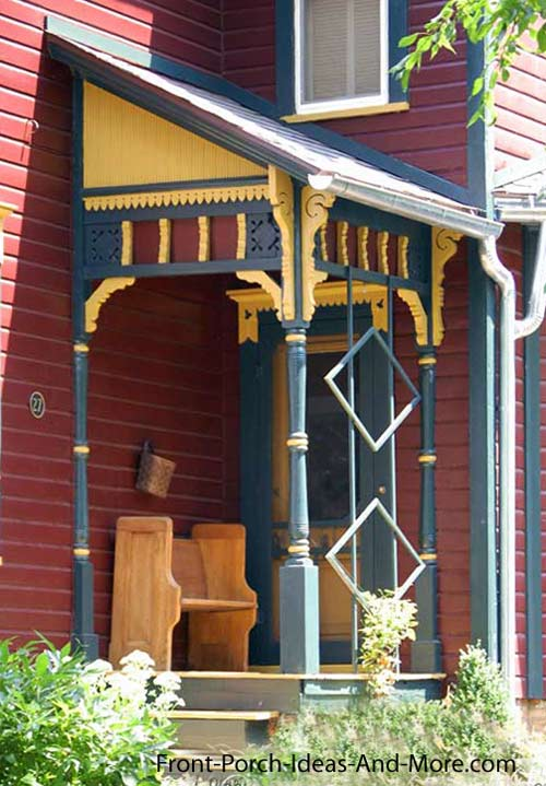 Small Victorian Front Porch