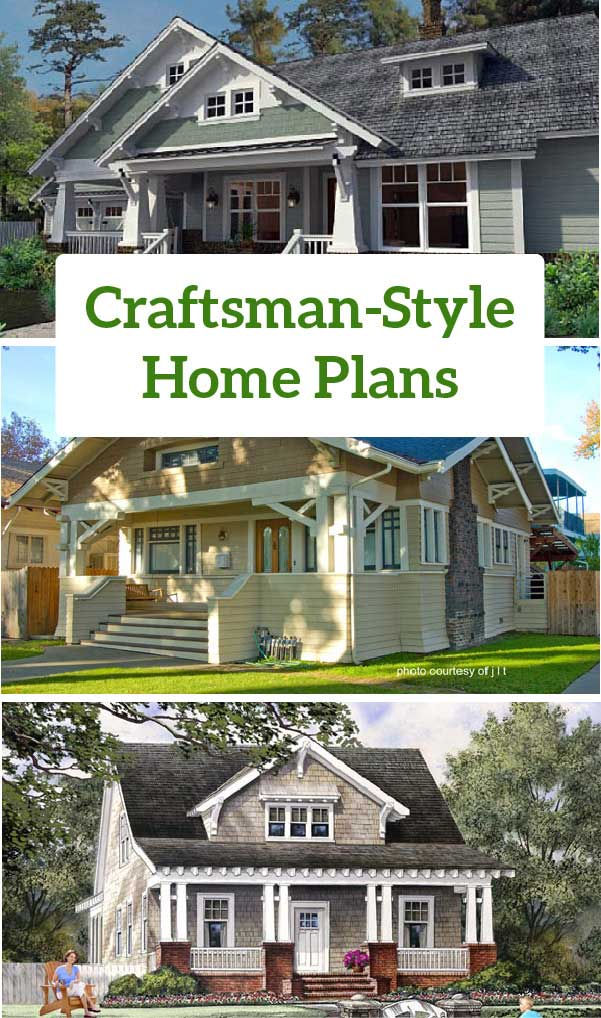 Craftsman style home plans craftsman style house plans for Familyhomeplans 75137