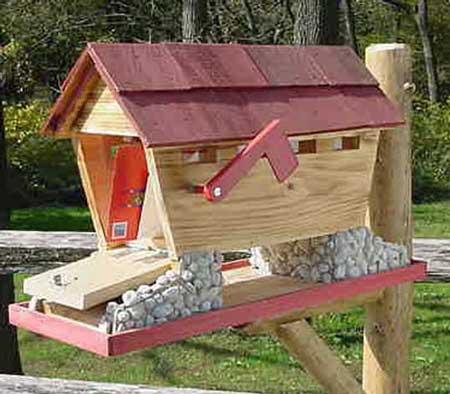 creative mailboxes - covered bridge