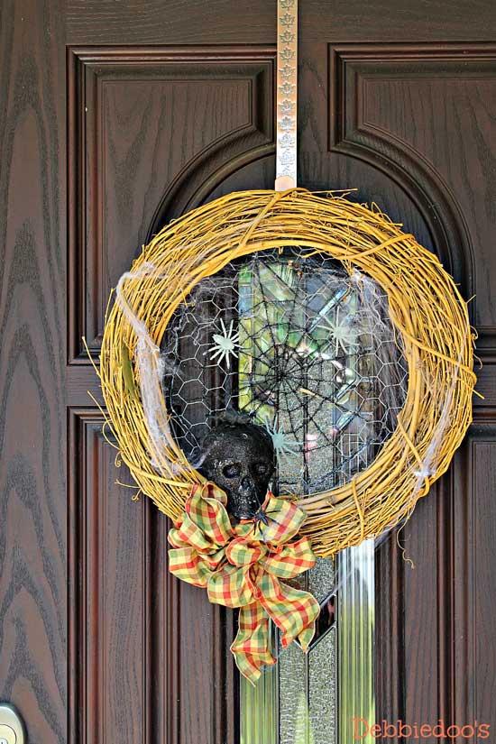 Debbiedoo's Halloween Front Porch