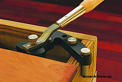 deck or porch board straightening tool