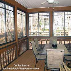 screen porch windows on new back porch
