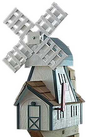 creative mailboxes - windmill