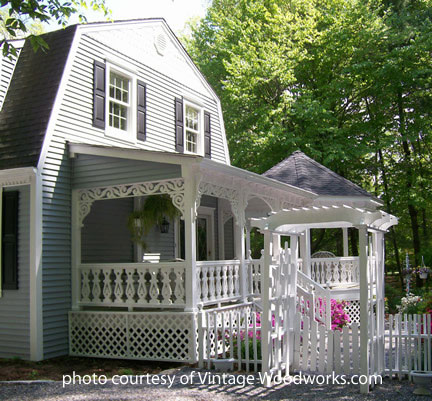 decorative front porch railings