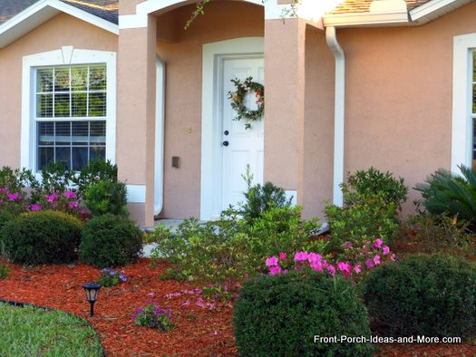 stucco front porch in deland fl