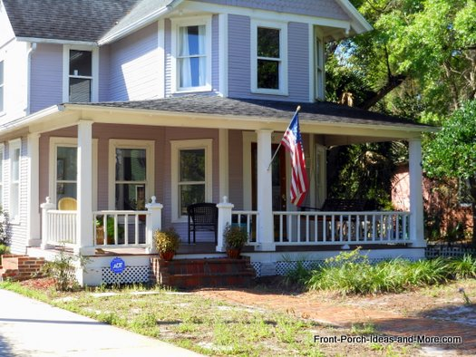 country style porch in  Deland FL
